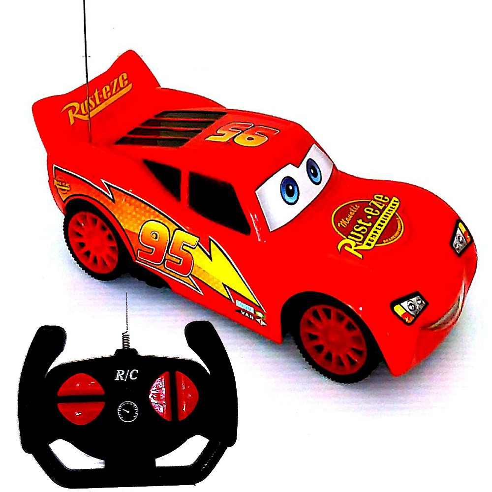 Cartoon Cars Remote Control Car Toy RC Toy For Kids ...