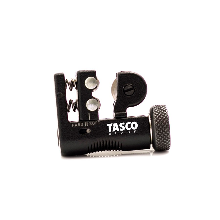 "TASCO BLACK MINI TUBE COPPER CUTTER SIZE : 1/8"" - 5/8"" C/W NICKEL PLATED BLADE MODEL : TB21N"