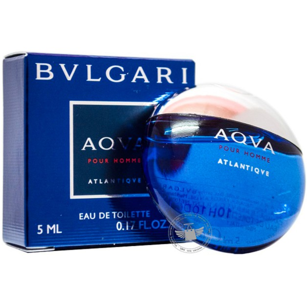 Aqva Pour Homme Atlantiqve By Bvlgari For Men Eau De Toilette 100ml