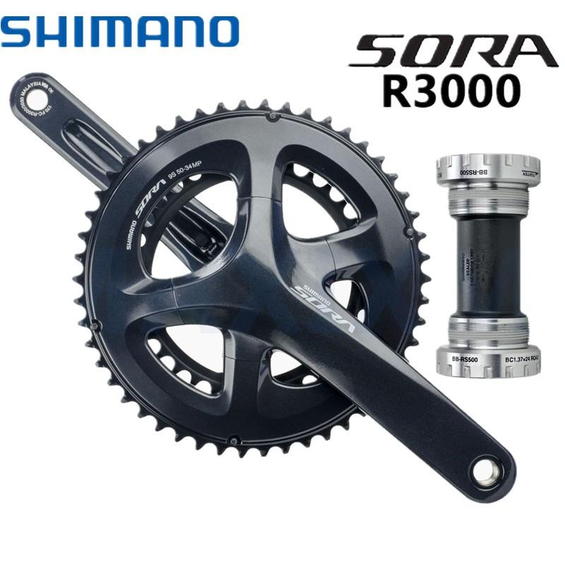 ceb3c5fe98c Original SHIMANO SORA 3500 3550 crank set   Shopee Malaysia