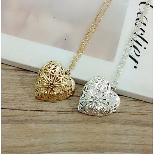 Creative Special Gifts Jewelry Memory Photo Love Heart Locket Necklace