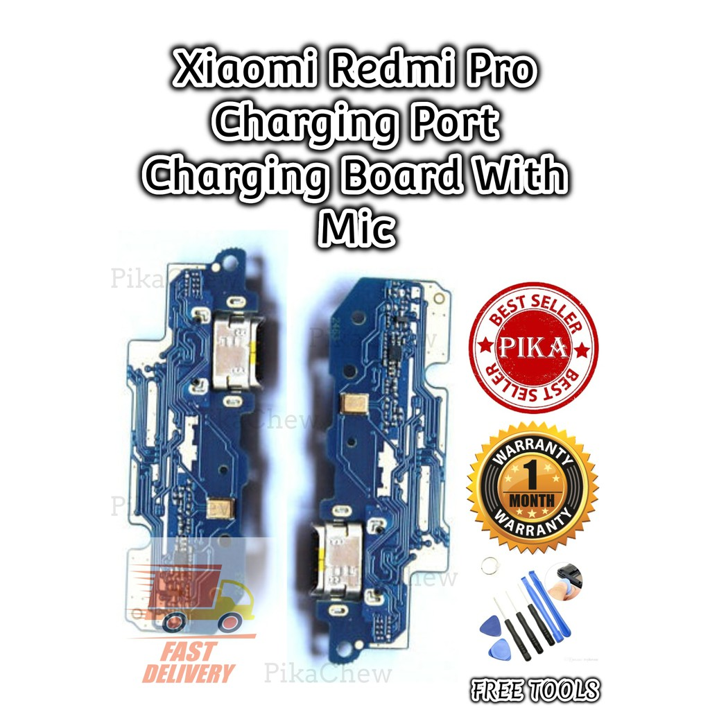 『PIKA』Xiaomi Redmi Pro Charging Port Charging Board With Mic