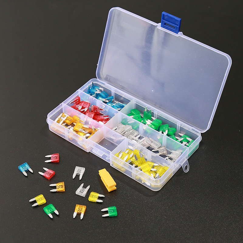 New 120pc Blade Fuse Assortment Auto Car Truck Motorcycle FUSES Kit