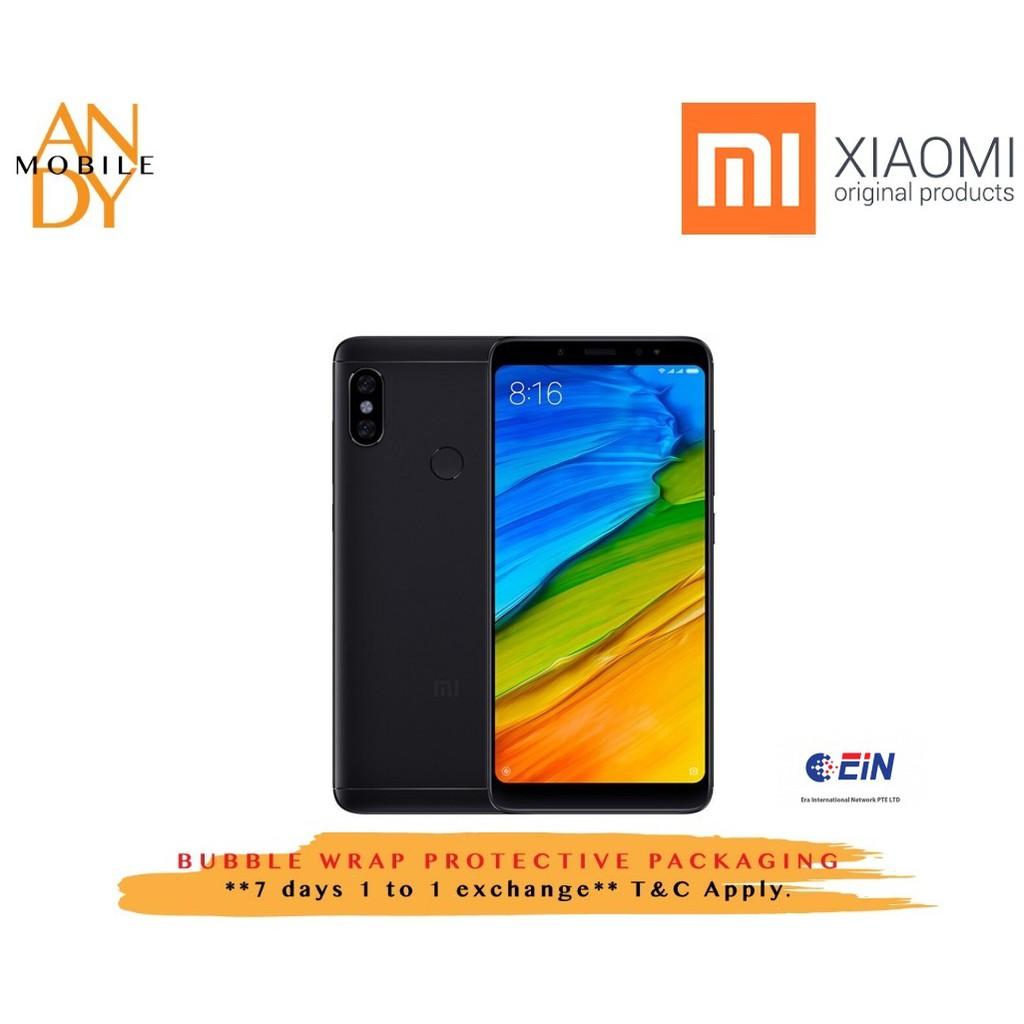 [Original Malaysia Set] Xiaomi Redmi Note 5 Ai Edition[64GB ROM+4GB RAM]