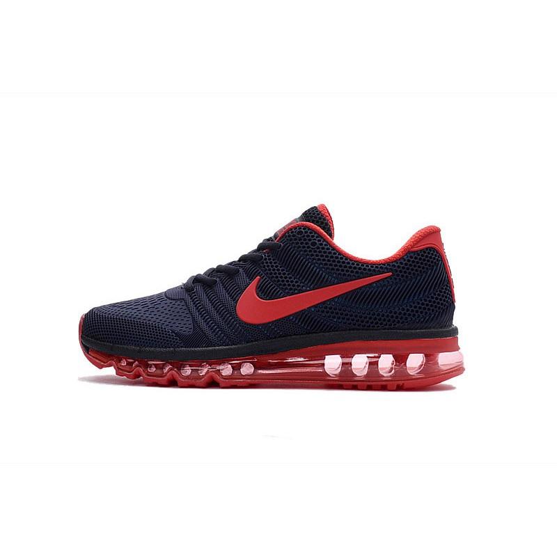 competitive price 8cfec d07e2 Mens Nike Air Max 2017 Dark Blue Red