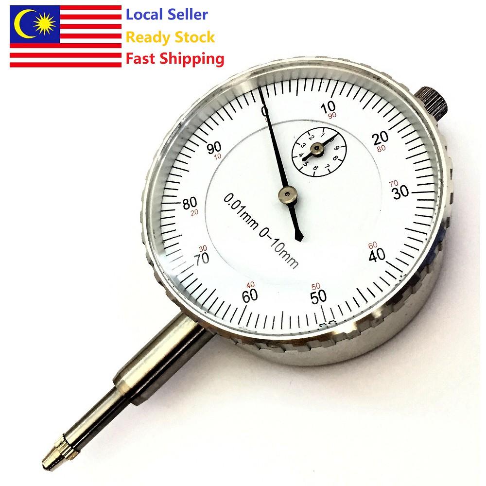 Dial Indicator 10mm Gauge Measurement Tool Instrument Gauge Precision Tool