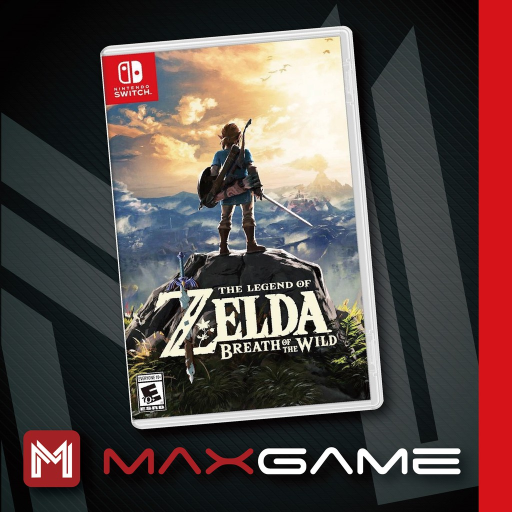 Nintendo Switch The Legend of Zelda Breath of the Wild (ENG/CHI)