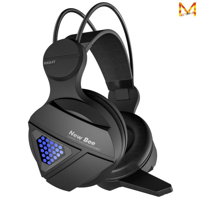 Wired Game Headphone Hifi Stereo Headset With Microphone For Ps4 Fortnite Xbox One