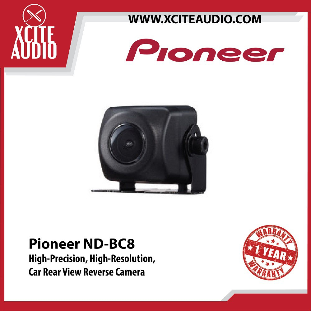 Pioneer ND-BC8 Universal Rear View Camera Kit CMOS Image Sensor Wide Angle