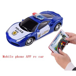 1/14 Android and Iphone APP remote control Police Car, toy