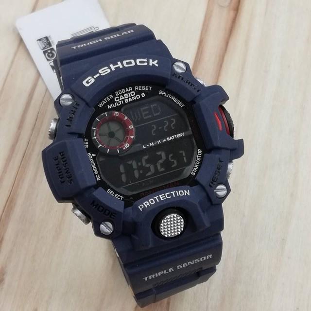 G Shock Waterproof >> Autolight Waterproof G Shock Rangeman Dark Blue Shopee Malaysia