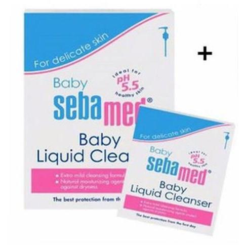 Sebamed Baby Liquid Cleanser 200ml / 1000ml+200ml