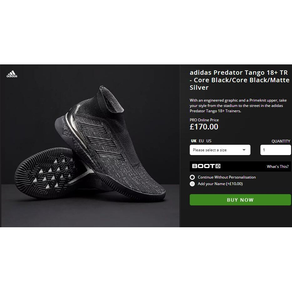 459beac23b2 Adidas Predator Tango 18+ TR boost men sneakers soccer football futsal shoes