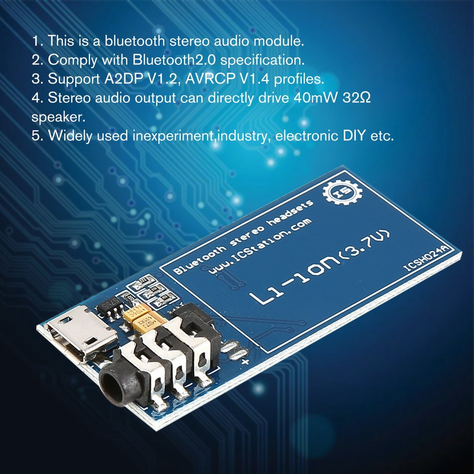 XS3868 Bluetooth Stereo Audio Module OVC3860 Chip Board Amplifier Arduino