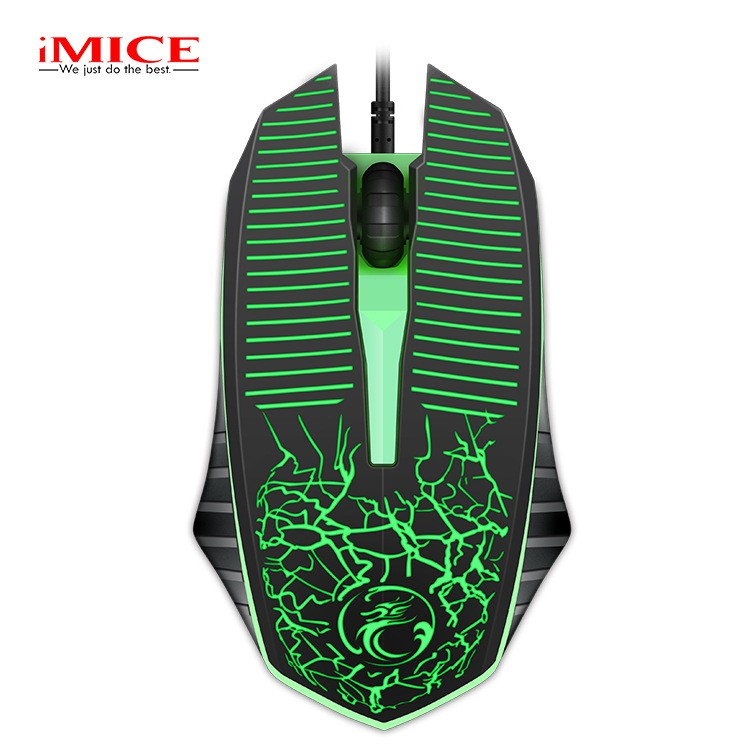 6cd0e9ad3a7 A874 7 Buttons USB Wired Gaming Mouse 1000 / 1600 / 2400 / 3200DPI with LED  | Shopee Malaysia