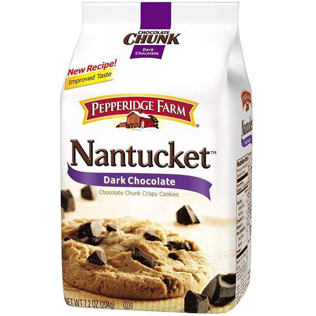 Pepperidge Farm Nantucket Dark Chocolate Crispy Cookies Shopee Malaysia