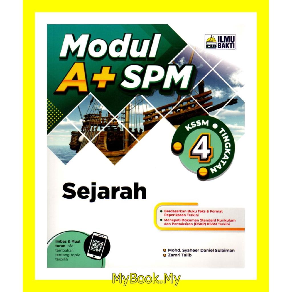 Myb Buku Latihan Modul A Spm Kssm Tingkatan 4 Sejarah Ilmu Bakti Shopee Malaysia