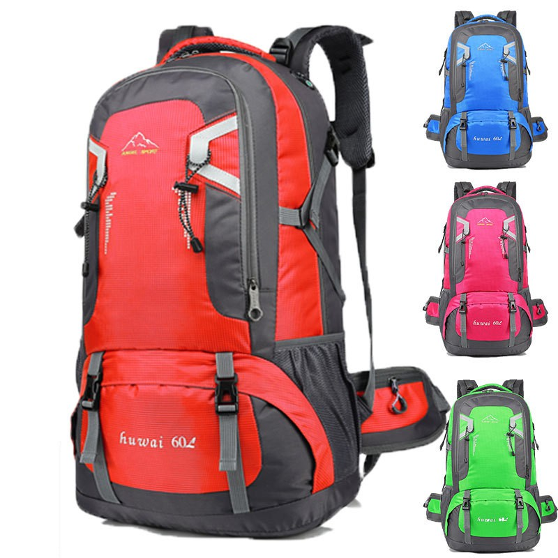 aaa3408c7ca2 Warbase 60L Waterproof Unisex Outdoor Travel Camping Hiking Backpack 7235