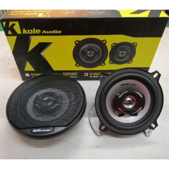 5 Inch Two Ways Speaker Kole Audio 150watts Max Shopee Malaysia