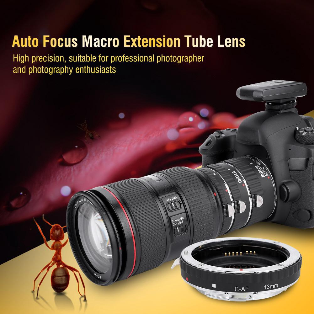 B 31mm Adjustable 3-Ring Auto Focus Macro Extension Tube Adapter Ring for Canon EF//EF-S Mount DSLR 21mm Meike Auto Focus Macro Extension Tube Set,13mm
