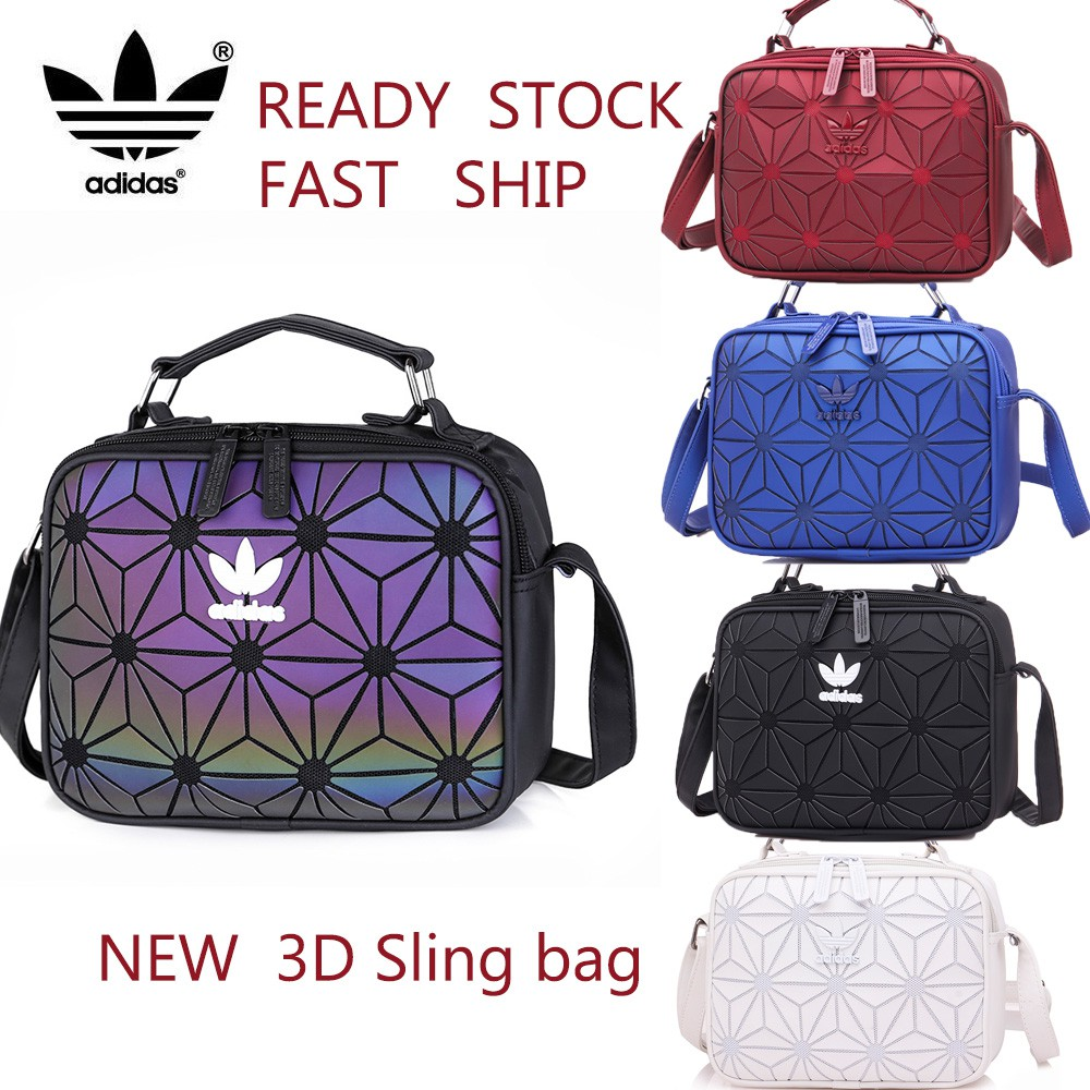 Ready Stock  Adidas 3D x Issey Miyake Mini Airliner Sling Bag   Shopee  Malaysia e90c141e04