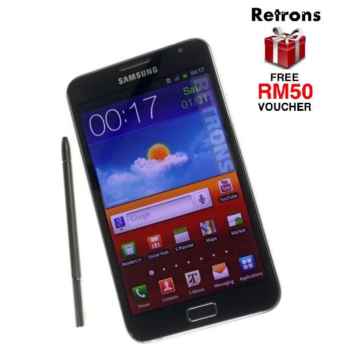 "[CNY 2021] 🇲🇾 Ori Samsung Note N7000 5.3"" inch Amoled HD LCD [16GB+1GB RAM] FREE RM50 Voucher"