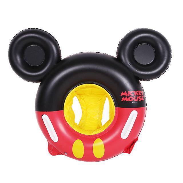 [ READY STOCK ]  Mickey Mouse Cute Cartoon Kid Swimming Ring Kid Baby Pool Float Toy Float Bed Jualan Murah Mainan Water