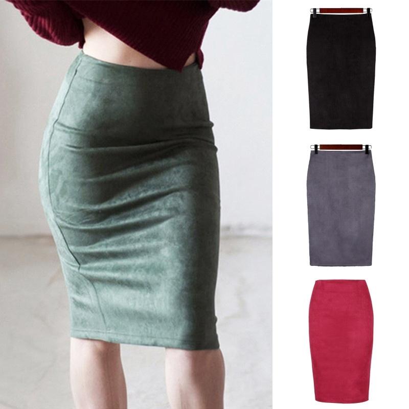 e8b856a1c WUUYCOKY Summer Korea in the long section - high waist Slim A word denim  skirt | Shopee Malaysia