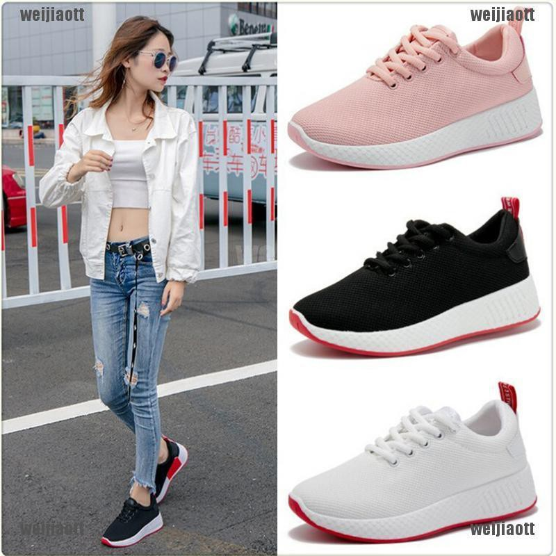 【weijiaott】Women's Running Shoes Sport Sneakers Athletic Breathable Casual Outdoor Trainers