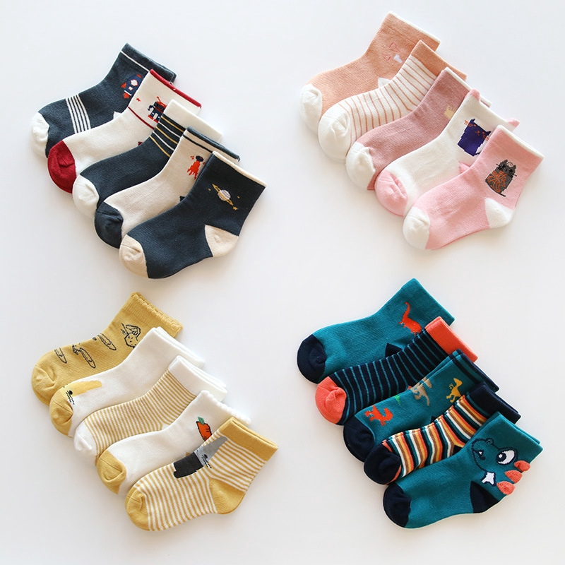 1b6ba71e5 3-12 Years Children s Stockings Girls Socks Baby Cartoon Long Socks Kids  Sock