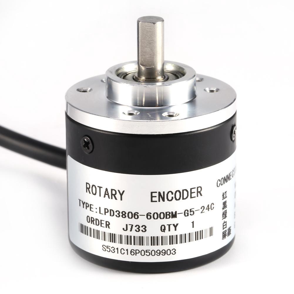 Encoder 6mm Shaft 600P//R Incremental Rotary AB phase for Length Measurement ED