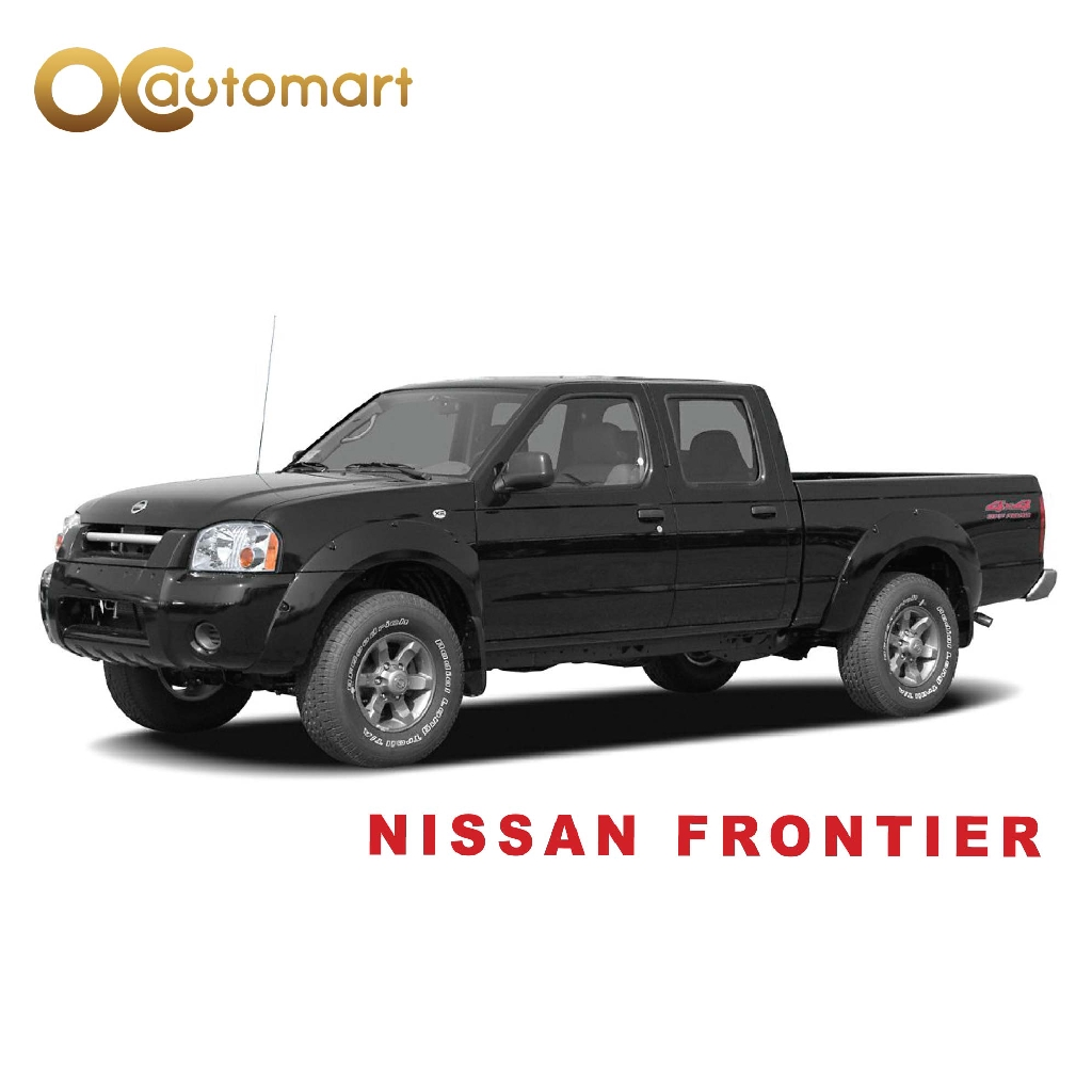 Nissan Frontier/Navara  - Car Seat Cushion Cover PVC Black Colour Shining With Red Line ( Made in Malaysia)