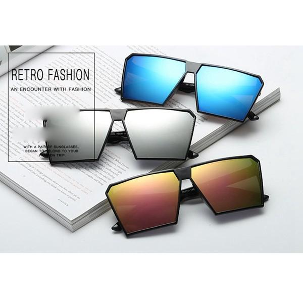 ae88f2545270 ProductImage. ProductImage. UV400 Women Men Vintage Big Square Frame  Sunglasses Oversized Sun Glasses