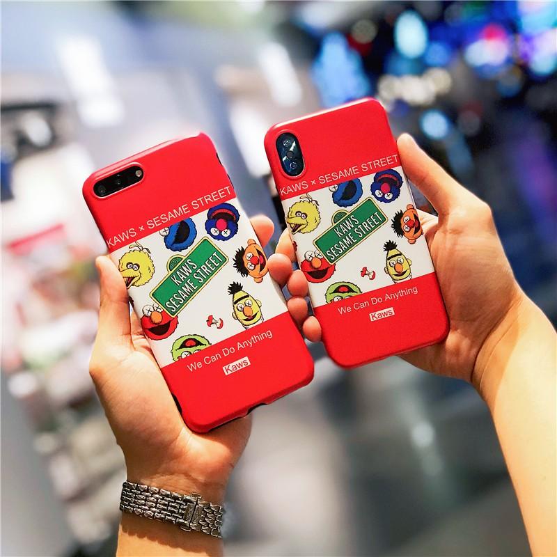 Case IPhone 6 6s 7 8 plus X XR XS MAX Sesame Street Phone Case