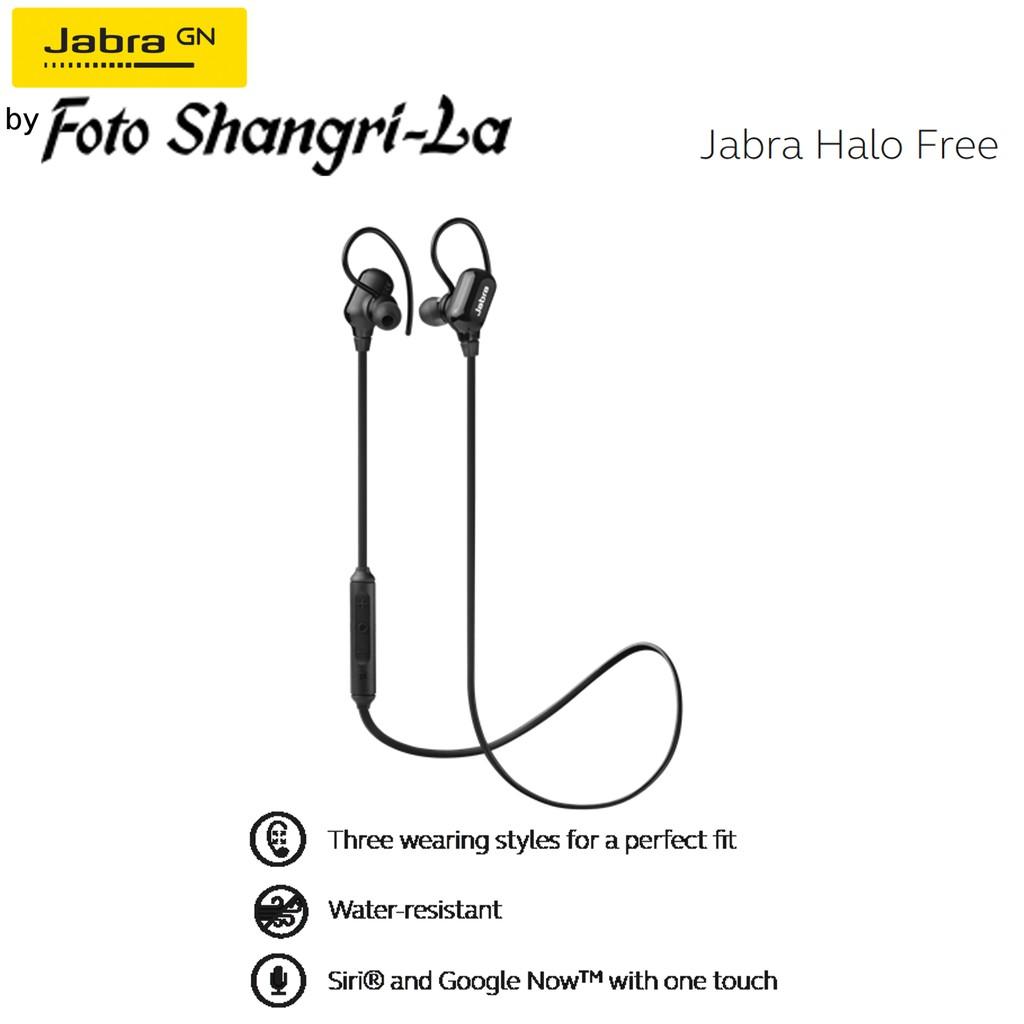 Jabra Halo Free Wireless Bluetooth Stereo Earbuds Black Shopee Fusion Malaysia
