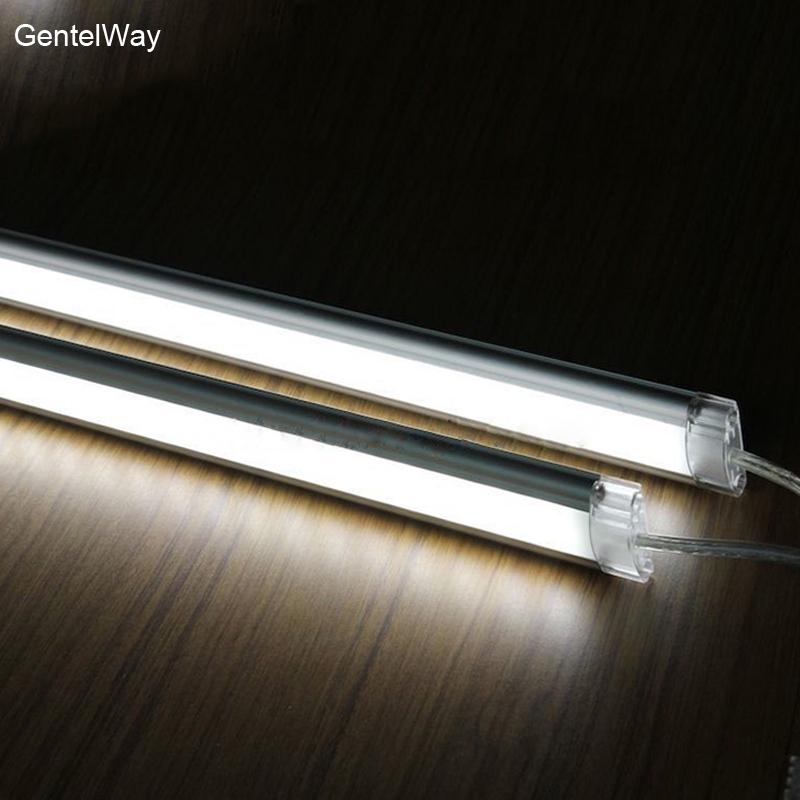 Led Strip Bar Night Light For Kitchen Under Cabinet Lighting 50cm Rigid Bar Lights 6w Lamp Home Office Decor With Dc