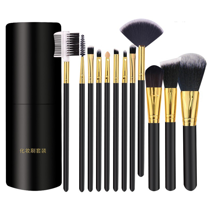 12支彩妆化妆刷套装 12 Make-up Makeup Brush Sets