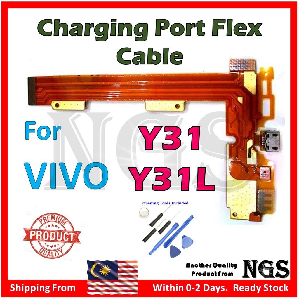 Vivo Y31 Y31L Charging Port Flex Cable + 8pcs Opening Tools
