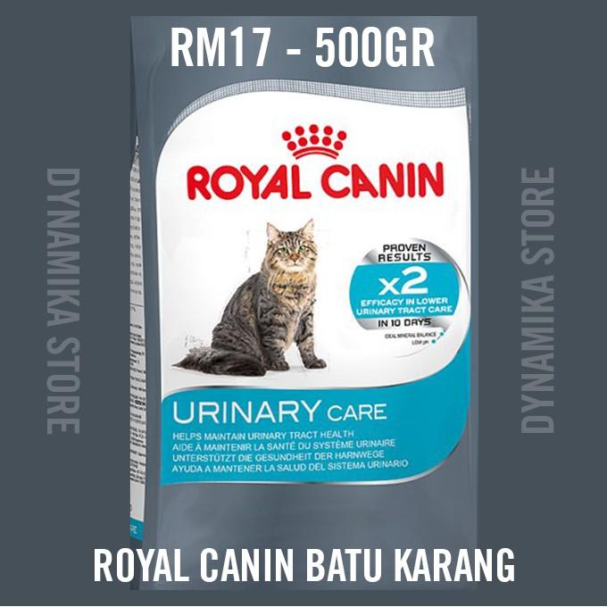 Royal Canin Urinary Care / Makanan Kucing Batu Karang buah pinggang - 500gr