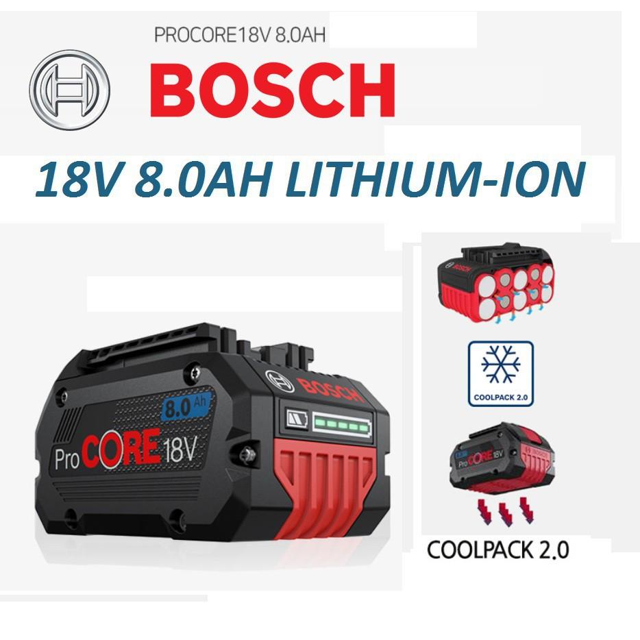 [MTMACHINERY]BOSCH 18V 8.0AH PRO CORE BATTERY