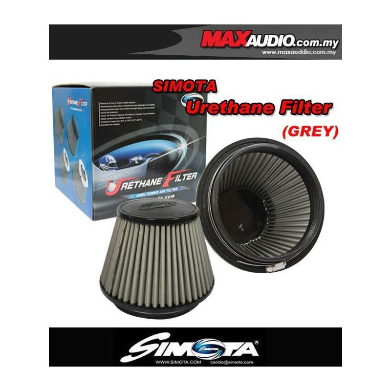 "[FREE Gift] SIMOTA  6"" FULLY STAINLESS STEEL URETHANE RACING OPEN PORT AIR  FILTER"