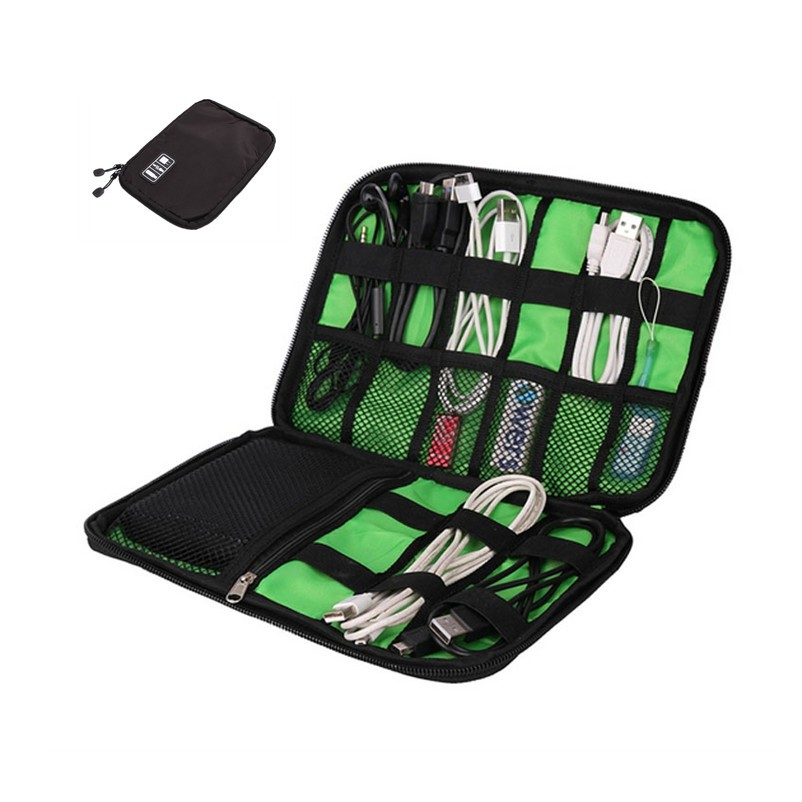 Waterproof Travel Wire Storage Bag Pouch Organizer Hard Drive Pen Data Cable Bag | Shopee Malaysia