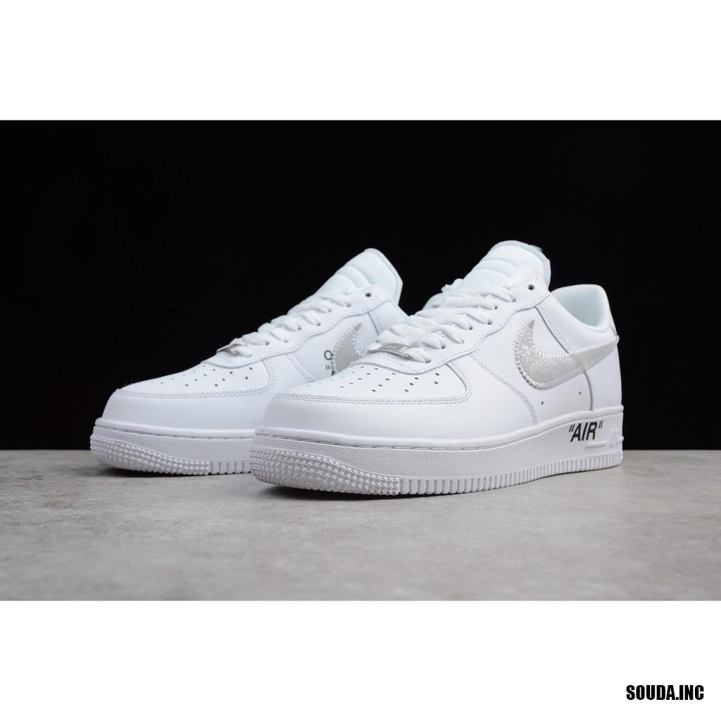 wadai SUPREME X CDG x NIKE AIR FORCE 1 Three party joint six eyes 923044-100  sneakers  be5ec2dc8