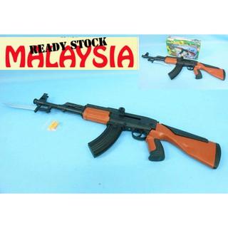M Sia Stock Shooting Toys Gun With Bullets Shopee Malaysia