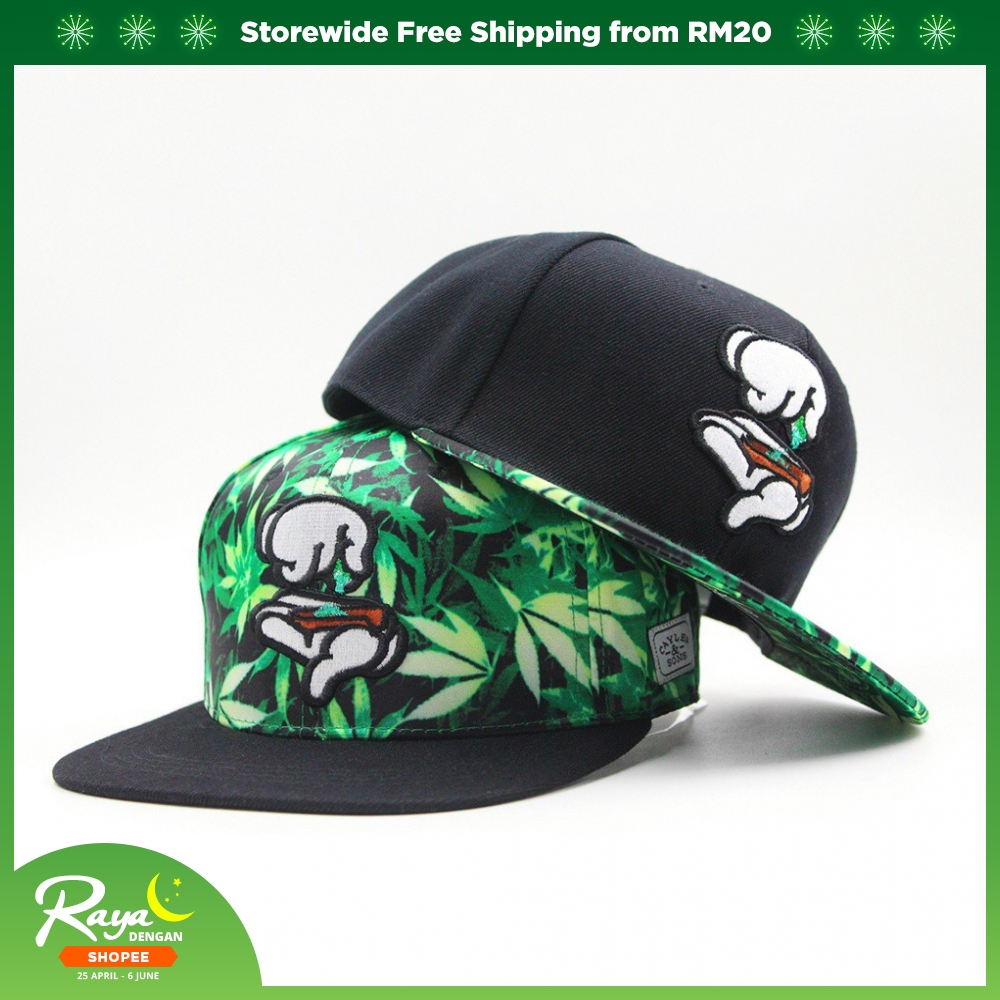 d1b8f61d Men Hip-hop Baseball Cap Adjustable Snapback Hat Flat Brim Sun Hats & Caps