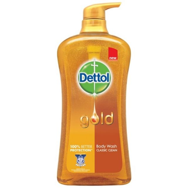 Dettol Body Wash Shower Gel Gold Classic Daily Clean 950ml