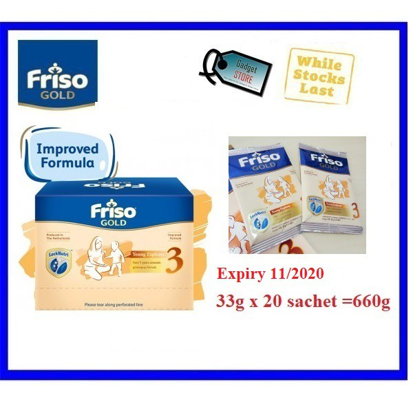 Friso Gold Step 3 33g Sachet Sachets Glucerna 52.1g Vgrains Vhalia Travel Pack Sachet Sampling S26