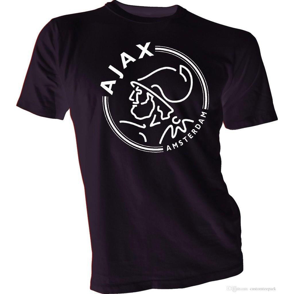 AFC Ajax Amsterdam Football Club Soccer T Tee Shirt RED logo Size s-4XL
