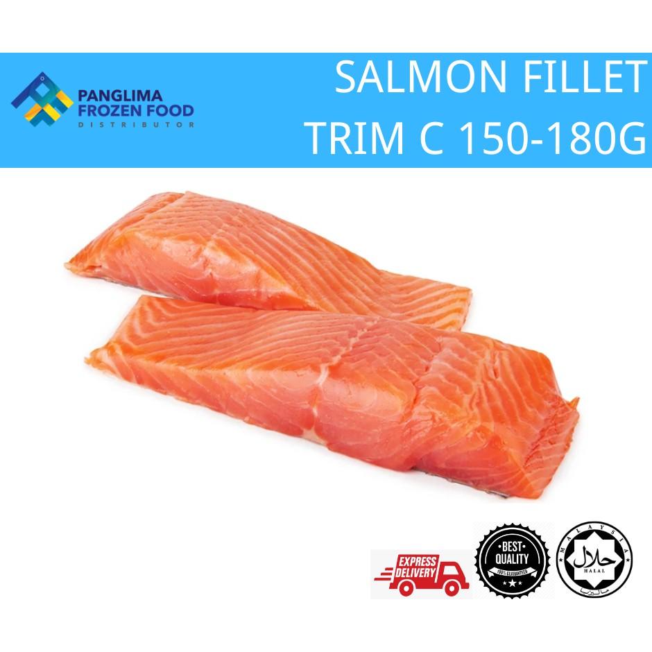 [KLANG VALLEY ONLY] SALMON FILLET TRIM C (150GM-200GM)