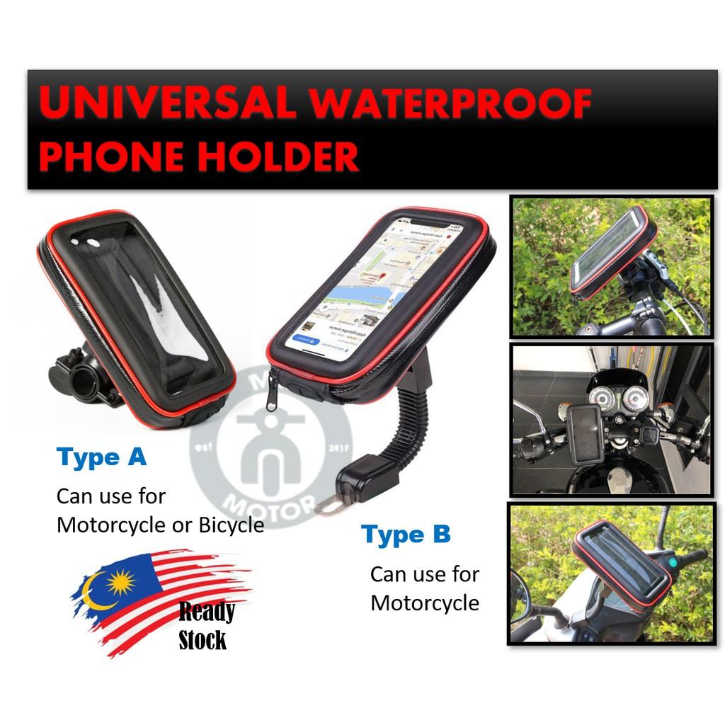 MYRIDER Best Quality Universal Waterproof Bike Motorcycle Mount Holder Phone Case Bag Phone Holder